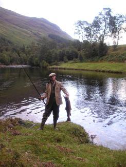 14lb salmon at Bridge Pool