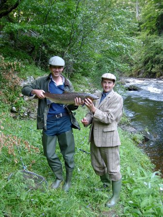 12lb salmon at Wood Pool