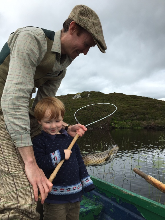 Archie's First Fish!
