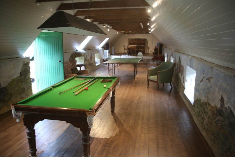 Refurbished Games Room