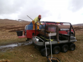 Restocking the loch